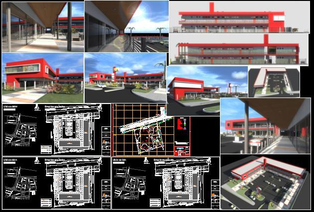 Planos de plantas arquitectura stripcenter renders en for Plantas de arquitectura