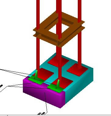 imagen Portico 3d, en Estructuras sismorresistentes - Detalles constructivos