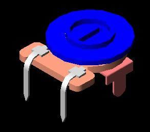 imagen Pot1 3d, en Componentes 3d - Electrónica