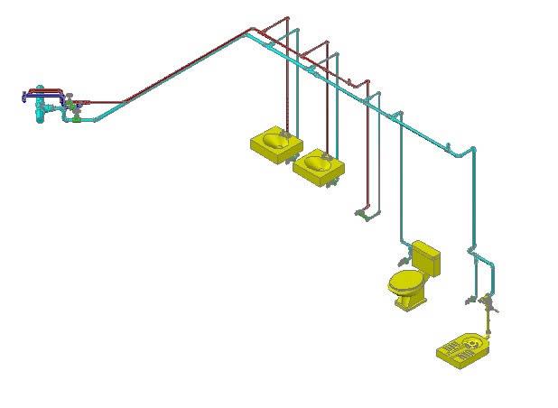 imagen Potable water toilet detail, en Provisión de agua - Instalaciones