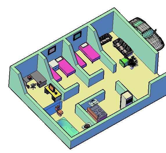 Planospara author at planos de casas planos de for Planos de casas de una planta en 3d