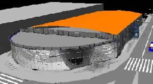 imagen Proyecto 3d piscina cubierta, en Proyectos estadios - Deportes y recreación