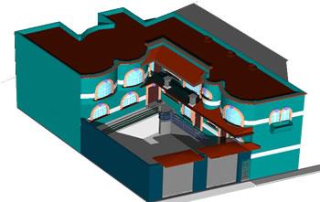 imagen Proyecto casa habitacion en 3d, en Vivienda unifamiliar 3d - Proyectos