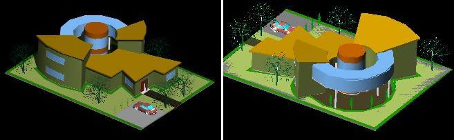 imagen Proyecto de vivienda 3d, en Vivienda unifamiliar 3d - Proyectos