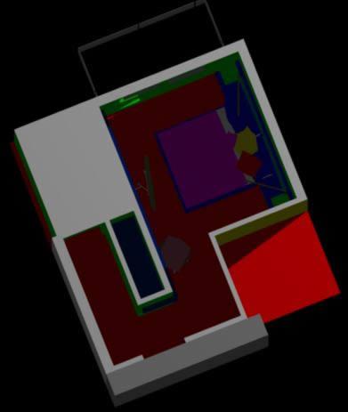 imagen Proyecto interiorismo dormitorio 3d, en Dormitorios - Muebles equipamiento