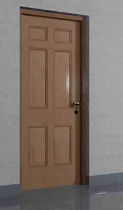 imagen Puerta 0.90x2.10 mts tipo 7, en Puertas 3d - Aberturas