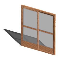imagen Puerta 210 x 210 3d, en Puertas 3d - Aberturas