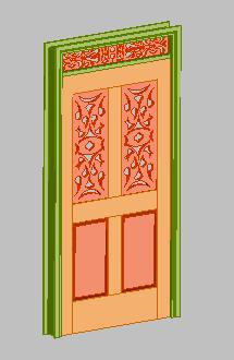 imagen Puerta calada, en Puertas - Aberturas