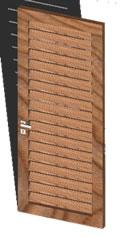 imagen Puerta de barajas 3d, en Puertas 3d - Aberturas