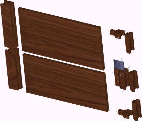 imagen Puerta neopreno 3d, en Puertas 3d - Aberturas