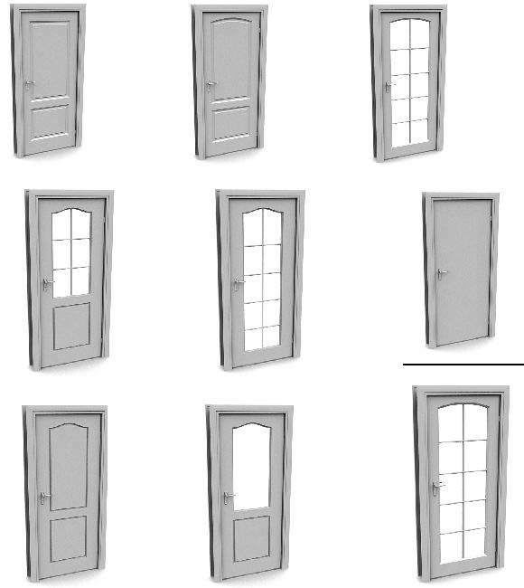 imagen Puertas 3d, en Puertas 3d - Aberturas