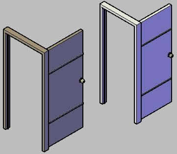 imagen Puertas en 3d, en Puertas 3d - Aberturas