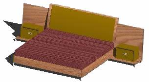 imagen Recamara 3d, en Dormitorios - Muebles equipamiento