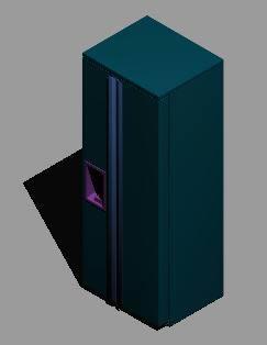 imagen Refigeradora en 3d, en Electrodomésticos - Muebles equipamiento