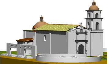 imagen Remodelacion templo de san andres s.xviii, en Arq. religiosa - Proyectos