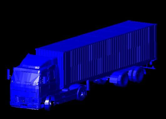 imagen Remolque 3d, en Camiones - Medios de transporte