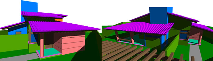 imagen Residencia 3d, en Vivienda unifamiliar 3d - Proyectos