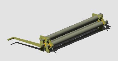 imagen Roladora manual de planchas, en Maquinaria - proyectos varios - Máquinas instalaciones