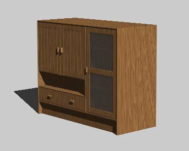 imagen Ropero 3d, en Dormitorios - Muebles equipamiento