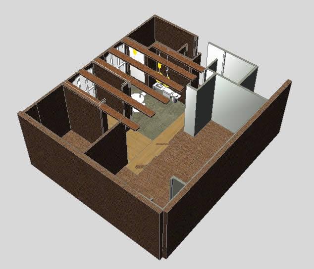 imagen Sala de conferencias 3d, en Oficinas bancos y administración - Proyectos