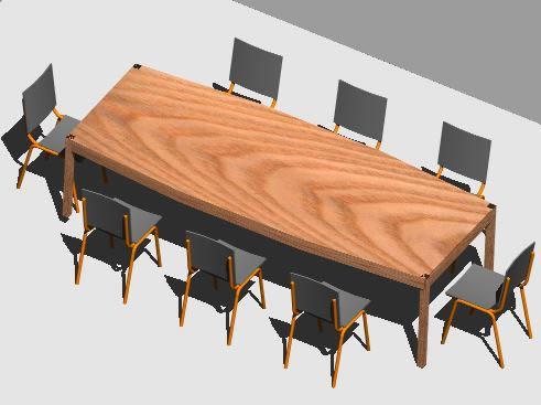 imagen Sala de reuniones 3d, en Oficinas y laboratorios - Muebles equipamiento