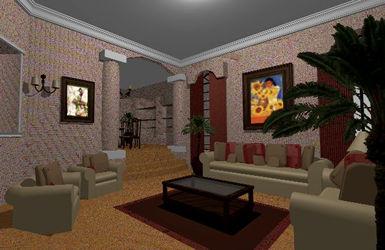 Planos de casas planos de construccion for Sala de estar dibujo