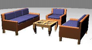 imagen Sala, en Salas de estar y tv - Muebles equipamiento