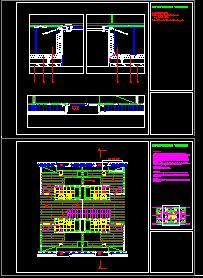 imagen Seccion constructiva, en Cortes con detalles constructivos - Detalles constructivos