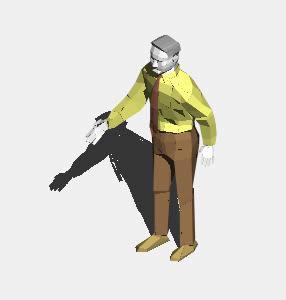 imagen Señor 3d, en 3d - Personas