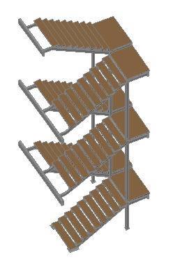 Modelos de escaleras 3d archives p gina 8 de 11 planos for Escaleras metalicas planos