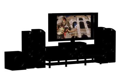 imagen Set completo de entretenimiento, en Salas de estar y tv - Muebles equipamiento