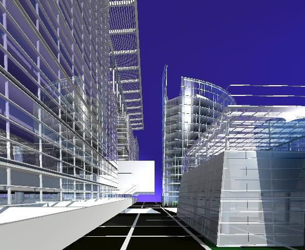 imagen Shoping mall 3d, en Centros comerciales supermercados y tiendas - Proyectos