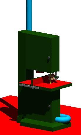 Resultado de imagen para sierra cinta dibujo