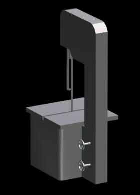 imagen Sierra sin fin 3d, en Maquinaria para industria de la alimentación - Máquinas instalaciones