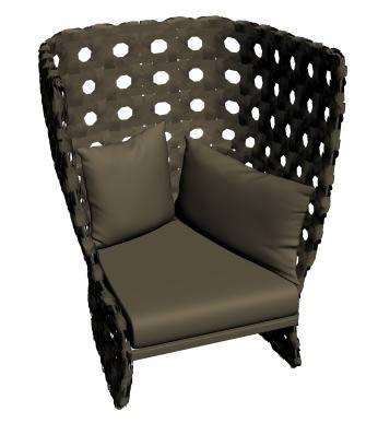 imagen Silla 3d, en Sillones 3d - Muebles equipamiento