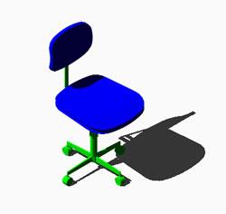 Planos de silla de oficina 3d en sillas 3d muebles for Muebles oficina 3d gratis