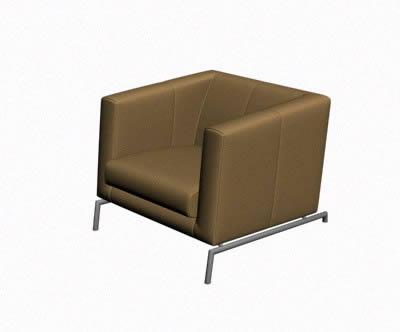 Planos de silla minimalista 3d en sillones 3d muebles for Planos de sillones
