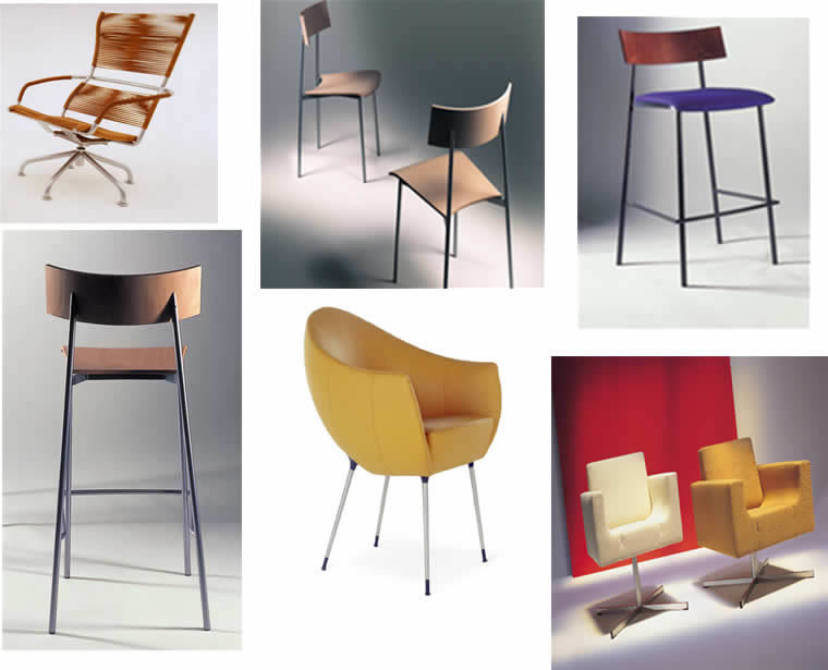 imagen Sillas  3d, en Sillones 3d - Muebles equipamiento
