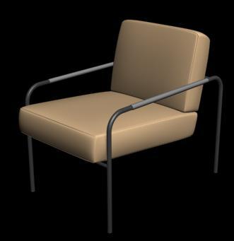 imagen Sillon 3d, en Salas de estar y tv - Muebles equipamiento