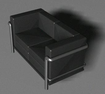 imagen Sillon 3d, en Sillones 3d - Muebles equipamiento
