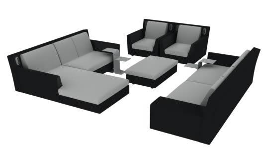 imagen Sillones 3d, en Sillones 3d - Muebles equipamiento