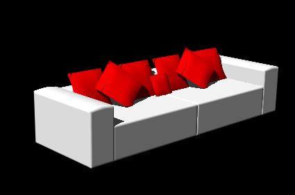 Planos de sofa 3d en sillones 3d muebles equipamiento for Muebles 3d autocad