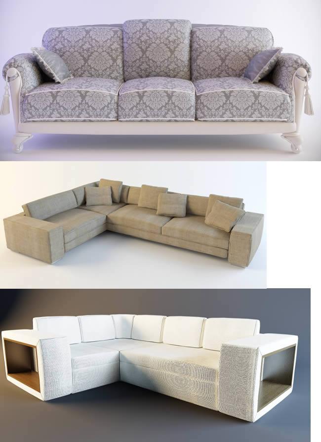 imagen Sofas 3d, en Sillones 3d - Muebles equipamiento