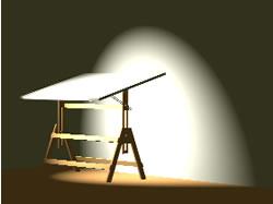 imagen Tablero de dibujo 3d, en Oficinas y laboratorios - Muebles equipamiento