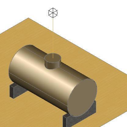 imagen Tanque 3d, en Gas y combustibles - Infraestructura