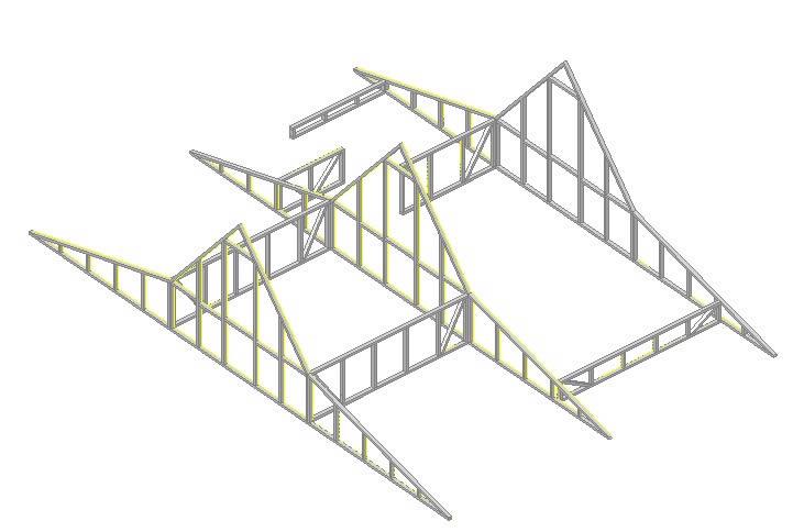 Planos de techo estructura madera en cubiertas estructuras detalles constructivos en planospara - Estructuras de madera para techos ...
