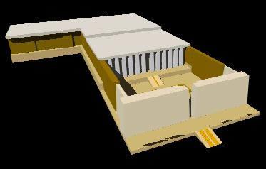 imagen Templo de seti i en abidos1 3d, en Iglesias y templos - Historia
