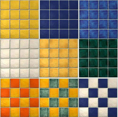 imagen Textura de azulejos de la pared, en Pisos cerámicos - Texturas