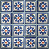imagen Textura mayolica, en Pisos cerámicos - Texturas