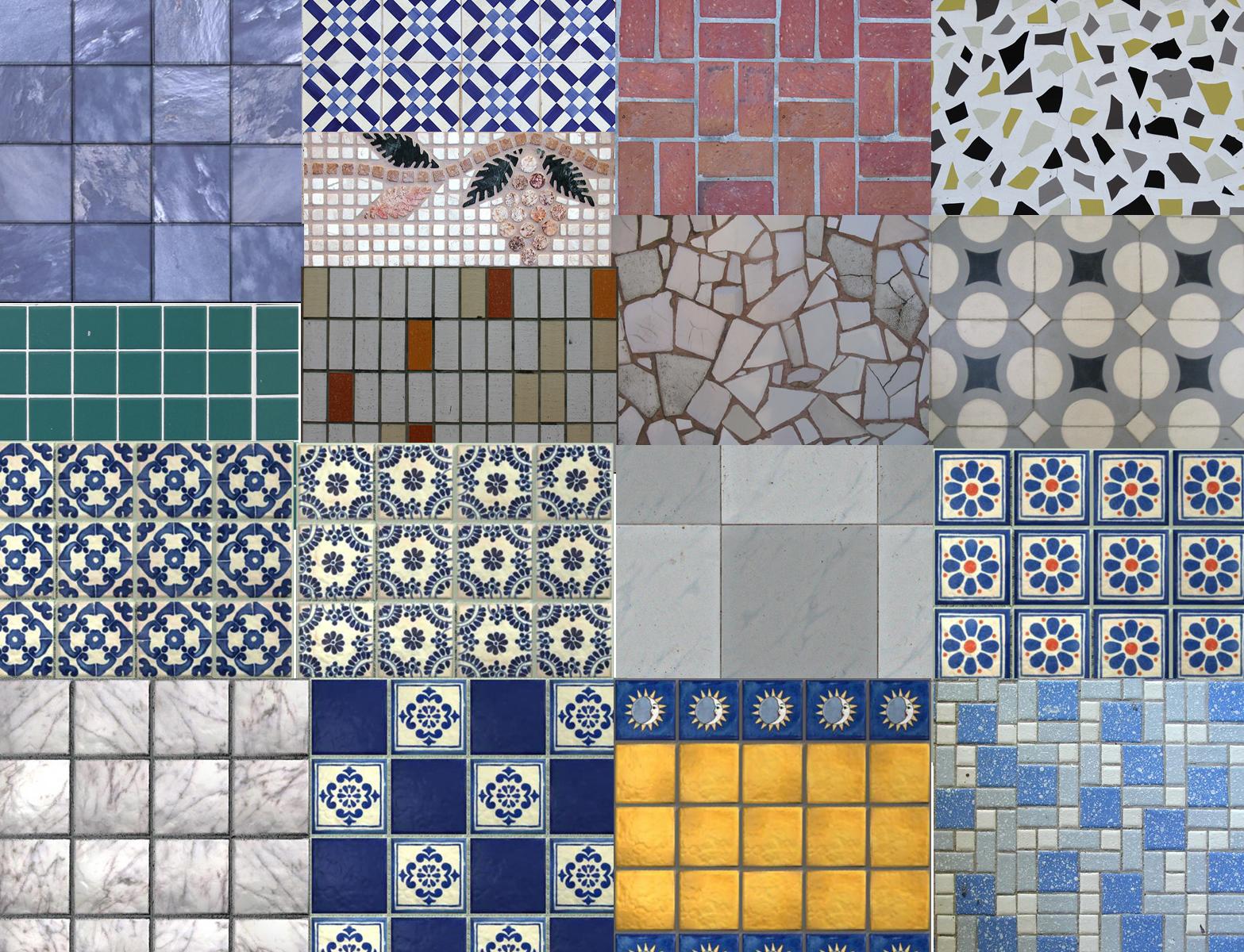 imagen Texturas cerámica, en Pisos cerámicos - Texturas